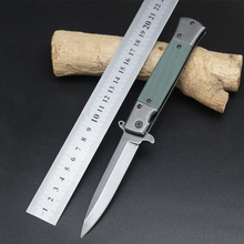 Hot Sale Survival Knife SOG Pocket Folding Blade Knife G10 Handle Hunting Tactical Knives Camping Outdoor Tools Free Shipping ST(China)