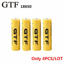 4 pcs/set 18650 battery 3.7V 9800mAh rechargeable li-ion battery  for Led flashlight batery litio battery Cell 18650