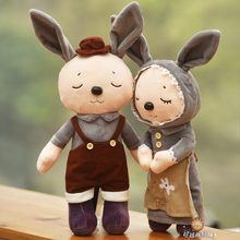 Original Cute Stuffed Doll Unique High Quality Sweet Rabbit Toys Baby Plush Bunny Toys kids Birthday Christmas Gift