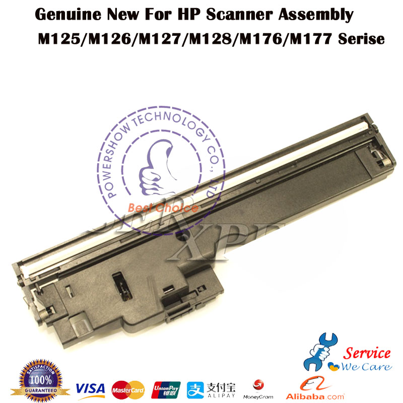 Original New CZ181-40012 Flatbed Scanner Assembly Unit Head For HP M125 M126 126A M127 M128 M177 M176 Series