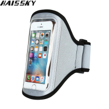 Haissky Universal Gym Running Sports Phone Case For iPhone 5 5S 5C SE 4 4S 3G / 3GS For Samsung Galaxy S2 S3 Arm band Case Cover