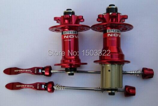 Novatec MTB mountain bike bicycle disc hub with quick release 28/32 holes D711SB/D712SB<br><br>Aliexpress