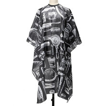 Pro Adult Salon Hair Cut Hairdressing Hairdresser Barbers Waterproof Cape Gown(China)