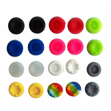 20x Controller Cap Cover jogos Stick Grips Cap For sony playstation play station 3 PS3 PS 4 2 PS4 PS2 joystick console Accessory
