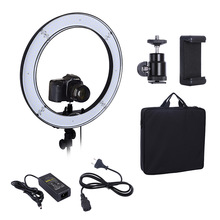 Camera Photo Studio Phone Video 55W 240PCS LED Ring Light 5500K Photography Dimmable Ring Lamp