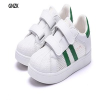 2017 summer children's shoes boys and girls Skateboarding Shoes Mesh Sports shoes  Kids' Sneakers  SIZE 20-37