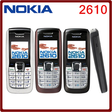 2610 Fast Unlocked Nokia 2610 the Cheapest Original Mobile Phone 10Pcs DHL Free Shipping(China)