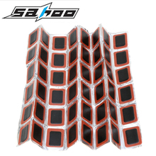 SAHOO 48Pcs Cycling Puncture Patch Bicycle Motor Bike Tire Tyre Tube Rubber Puncture Patches Professional Bike Repair Kits