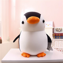 28CM/1 Pcs Baby Adorable Animal Cute Penguin Soft Foam Particles Penguins Doll Gift Plush Toys For Children(China)