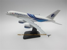 20cm Metal Alloy Plane Model Blue Air Malaysia Airlines A380 Aircraft Airbus 380 Airways Airplane Model w Stand