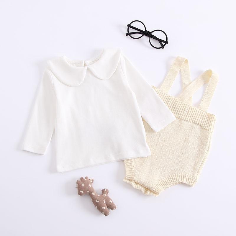 e2fe03976 2019 Autumn Newborns romper Kazakhstan Baby Pants Climbing Suits ...