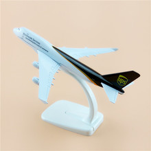 New Free Shipping 16cm Alloy Metal Air UPS Airlines Boeing 747 B747-400 Airways Plane Model Aircraft Airplane Model Gifts(China)