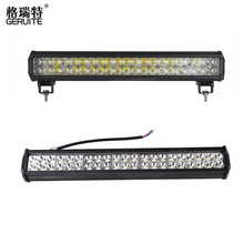 New Upgrade 22 inch 4D 126W LED Work Light Bar Spot Beam Spotlight 12-24v for Tractor Boat Offroad 4WD 4x4 Truck SUV ATV