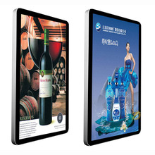 49 inch wall mount touch screen digital signage video advertising display full HD led commercial advertising display Windows I7