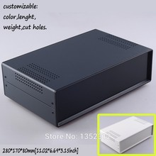 One pcs 280*170*80mm iron project box for electronic housing DIY instrument control box junction box switch distribution case