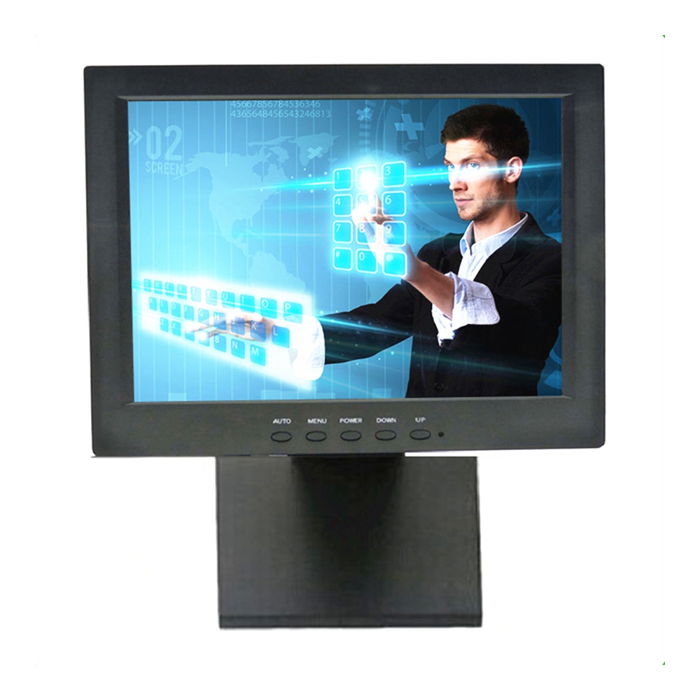 Wearson 12 Inch 4 Wire Resistive Touch Screen Monitor VGA Input 1024x768 Resolution VESA For Medical care&Pos Cashier&Dentistry (6)