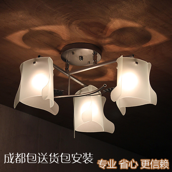 Lighting bag bedroom lamp glass ceiling light decoration lamp lighting lamps<br><br>Aliexpress