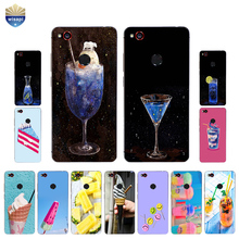 Phone Case ZTE Nubia Z9 MAX Nubia Z11 / Z11 Mini MAX Cover Nubia Z11 MiniS Shell TPU Drink Dessert Design Painted