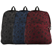 Sales Promotion black dark blue red Backpack Satchel Bag Grids Pattern School Travel for JIANSHIPO Wholesale
