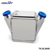 "TANSKY - Aluminum Water Cooled Intercooler Power Cooler - 15"" x 11"" x 4.5"" Inlet/Outlet: 2.5"" TK-SL5048(China)"