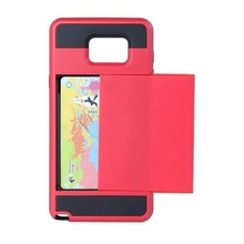 Hybrid Tough Armor Kickstand Cover for Apple iphone 4 4S 4G 4GS Case Card Slider Wallet ID Slot Coque Fundas Phone Bag