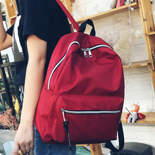 2018 Cheap Unisex Women Backpack Oxford Backpack School Bags Teenagers Couple Backpacks Casual Girls Boys Rucksack Mochila