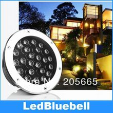 High Power LED Chip 24w led underground light Waterproof IP67 AC90~260V LED Floor Lamp Outdoor