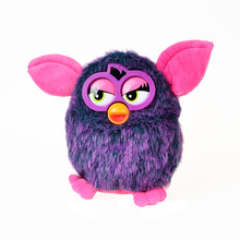Plush Robotic Phoebe Talking Hamster Interactive Pets Owl Electronic Recording Child Gift Toys , 17cm