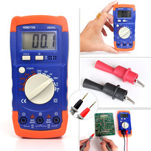 Coupled with alligator clip and text pen Multifunctional mini digital Meter Tester 2nF-200uF & 2mH-20H compatible Multimeter(China)