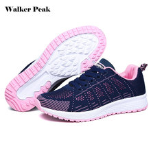Women's Sport Running shoes, Lady Walking Shoes, breathable Mesh athletic Outdoor shoes for Women, size EU 36-40 Sneakers Female