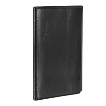 VSEN NEWBRAND 120 Cards Black Leather Business Name ID Credit Card Holder Book Case Organizer