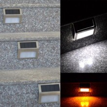 10PCS/Lot Mini LED Solar Light Outdoor Solar Lights Cold/Warm White Solar Stair Lights Indoor LED Flood Light Garden Lamps