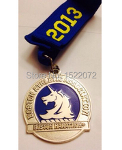 custom Marathon Medal cheap New 117th Running Athletic Association Support medals hot sales custom carved sports medals