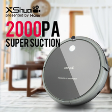 XShuai HXS-G1 Wireless 2000PA Super Suction Vacuum Cleaner Robot Auto Recharge Remote Control For Carpet Wood Floor +Brush Gift