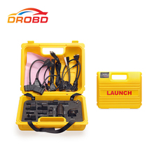 Original Launch X431 Diagun IV yellow case with full set cables Yellow box for x-431 Diagun IV Diagun 4 free shipping