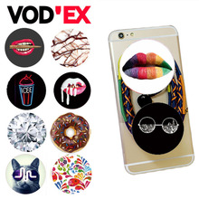 Vodex Round Pop phone support silicone bracket hand lazy flexible mobile phone stand table holder mount for iphone7