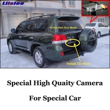 Car Camera For TOYOTA Land Cruiser J200 LC200 LC 200 V8 High Quality Rear View Back Up Camera For Friends Use| CCD + RCA
