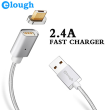 Elough E04 Magnetic Charger Cable Micro USB Cable For iphone Android Mobile Phone Fast Charge Magnet Charger Microusb Cable Wire(China)