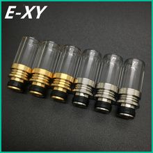 E-XY 510 Drip tips Stainless Steel Drip tip vapelyfe Laser etching drip tip e cigarette tank  for ego 510 Atomizer for vape