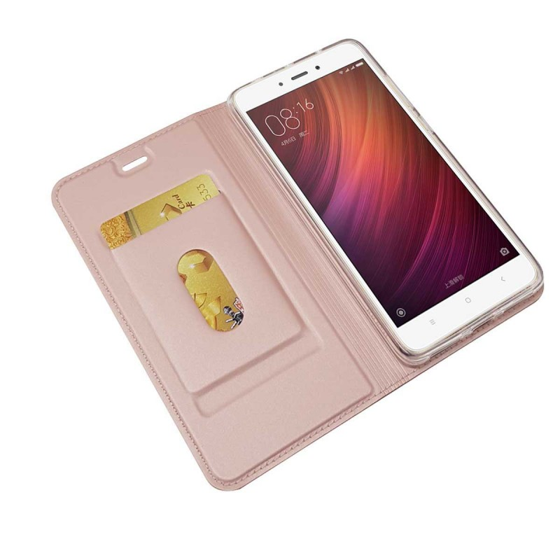 For Xiaomi Redmi Note 4 Case Magnet Flip Cover Window Display Case For Redmi Note 4X Note 4 Pro Leather Wallet Coque Etui Capa (25)