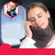 Soft Travel Pillow No Inflatable Comfortable Head Support Neck Pillow Memory Foam Airplane Car Sleeping Nap Pillows Home Textile