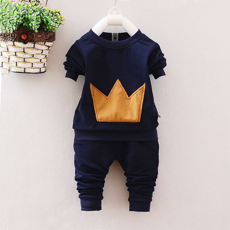 kids 0-1-2-3-4 year old baby boys autumn spring tide long sleeve sweatshirt + pants two piece sets  personality children cloths<br><br>Aliexpress