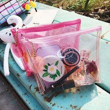 PVC Transparent Travel Cosmetic Bag Waterproof Clear Pouch Makeup Bags Cosmetic Beauty Accessories Supplies Products Storage Bag