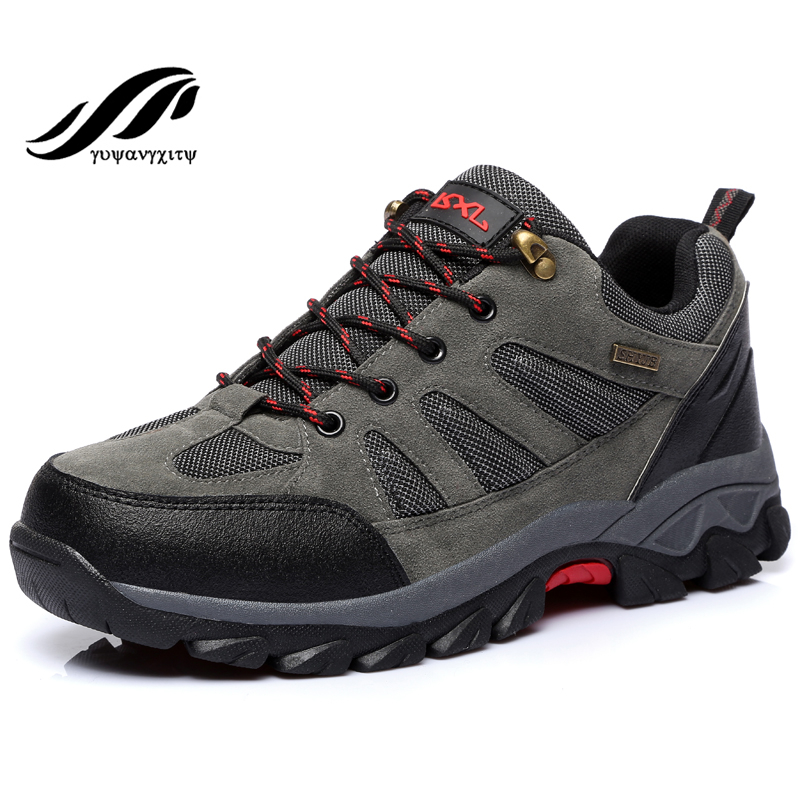 2016 men Hiking Shoes  Comfortable man Climbing Shoes windproof waterproof shoes<br><br>Aliexpress