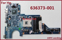 Free Shipping for HP Pavilion G4 G6 G7 Laptop motherboard 636373-001 DDR3 good quality working 100% Tested