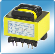 Manufacturers direct transformer small transformer power transformer 5W 220V 9 pin 13X22 variable 10V(China)