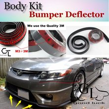 For HONDA Civic Type R Si EG EH EJ EK EM ES EP EV FD FA FG FK FN FB Bumper Lip Lips / Front Spoiler For Car Tuning / Strip