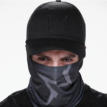 2016 New Watch Dogs Hat Aiden Pearce Men Women Costume Cool Cosplay Watch Dogs Cap High Quality Baseball Caps