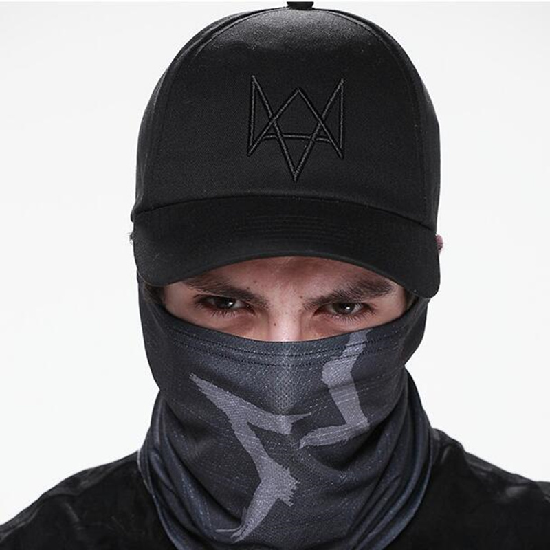 2016 New Watch Dogs Hat Aiden Pearce Men Women Costume Cool Cosplay Watch Dogs Cap High Quality Baseball Caps<br><br>Aliexpress