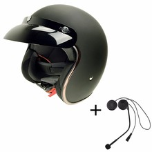 High Quality Bluetooth Motorcycle Half Face Helmets BT Earphone for Mp3/Phone Taking/GPRS Long Distance Brand Cycling CG511-L1